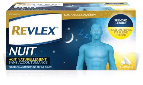 Revlex Nighttime Packaging